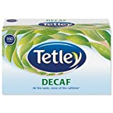 Brand New. Tetley Tea Bags Decaffeinated High Quality Ref A06070 [Pack 160]
