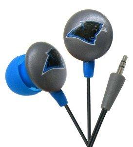 Carolina Panthers Ear Buds