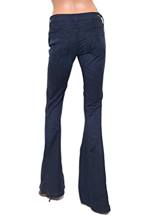 Women's Citizens Of Humanity Charlie Super Flare Back Kick in Midnight Size 30