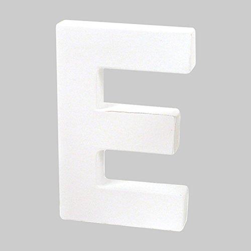 decopatch-lettera-e-in-cartapesta-colore-bianco