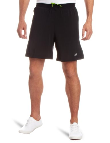 New Balance New Balance Men's 7-Inch 2-In-1 Short, Black, X-Small