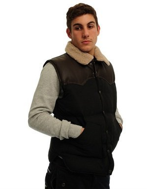 Criminal Damage Musket Gilet Black: X Large