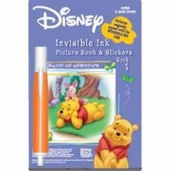 Disney Winnie The Pooh Invisible Ink Pen Book 1 - 1