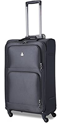 Aerolite Super Lightweight 4 Wheel Spinner Luggage Suitcase Travel Trolley Cases. 21î Cabin Hand Luggage Bags, fits 55x40x20cm Easyjet/Ryanair and 26î and 29î Medium & Large Suitcases Sets.