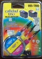 Color Ink Refill Kit for Lexmark 1, 2, 24A, 29A, 33 and 35 Cartridges