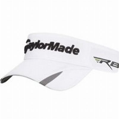 Taylor Made Tour Split 4.0 Visor (White/Gray, One Size, 2012) Golf Hat (Taylor Made Rbz Hat compare prices)