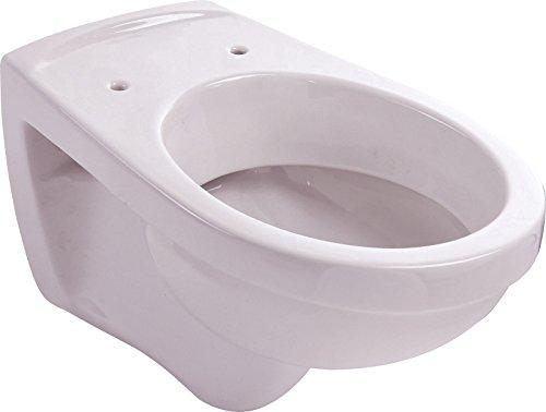 Wand-WC | Tiefspüler | Manhattan | Grau | Toilette | Klo | Gäste-WC | Bad | Badezimmer | Keramik | Wand-WC | Hänge-WC