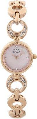 Titan-Raga-Upgrade-Rose-Gold-Color-Dial-Womens-Analog-Watch-2444WM02