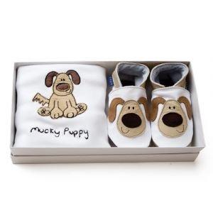 Inch Blue Gift Set - Mucky Puppy (6-12 months)
