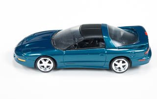 Auto World 1993 Pontiac Firebird Trans Am 1/64 Diecast Car Emerald Green