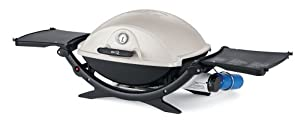 Weber 566001 Q 220 Portable Propane Gas Barbecue, Silver (Discontinued by Manufacturer)