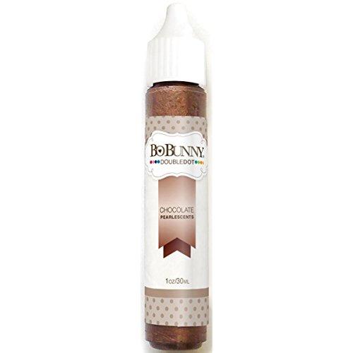 bo-bunny-double-dot-pearlescent-acrylic-paint-tubes-1-ounce-chocolate