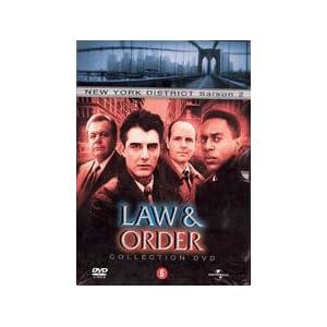 New York District - L'intégrale Saison 2 (22 épisodes) - Coffret 6 DVD