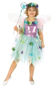 Garden Fairy Child Costume Size 2-4 Toddler
