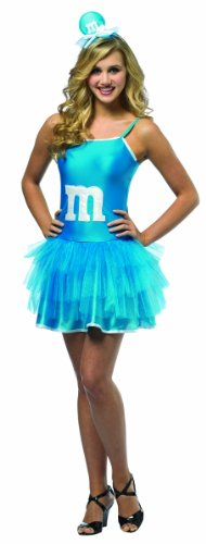 Rasta Imposta M&M's Party Dress, Blue, Teen 13-16 - 1