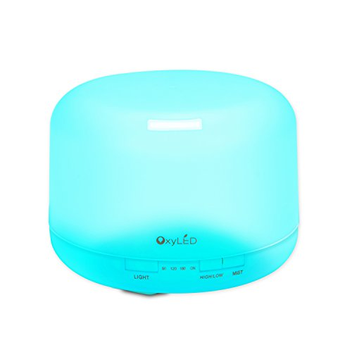 oxyled-500ml-essential-oil-diffuser-aromatherapy-humidifier-7-color-changing-light-auto-shut-off