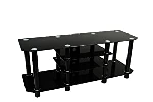 60 in. Dynasty Black TV Stand