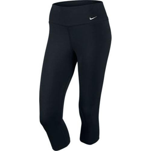 NIKE Damen 34 Hose Legend 2.0 Tight Dri Fit Capri, Black