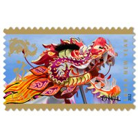 2012 Lunar Year of the Dragon FIVE (5) Sheets of 12 x Forever us Postage Stamps