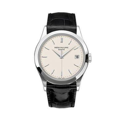 Patek Philippe Calatrava Men's 18K White Gold Watch - 5296G-010