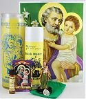 Candle Spell Kit-SAINT JOSEPH HOUSE SELLING KIT