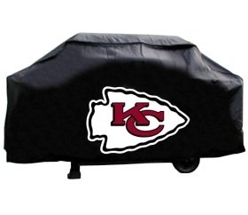 Kansas City Chiefs Grill Cover Economy by Hall of Fame Memorabilia