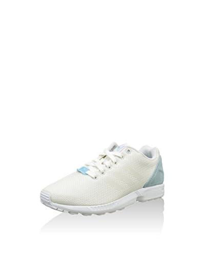 adidas Sneaker ZX Flux Weave [Bianco/Celeste]