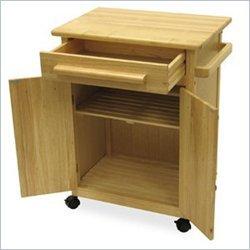 Cheap Basics Storage Kitchen Cart (B004GIIXRO)
