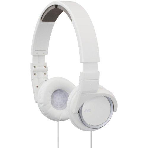 Jvc Has400W Carbon Nanotube On-Ear Headband Headphones (White)