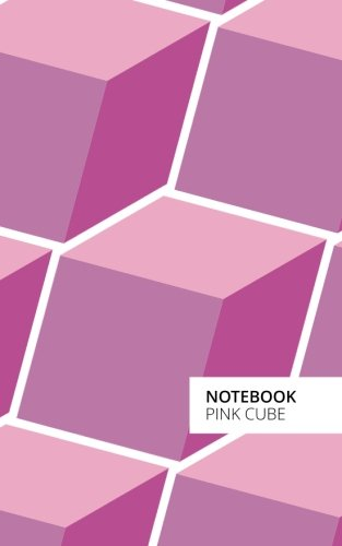 Pink Cube Lined Notebook