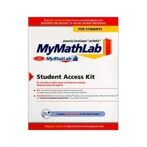 Generic Mymathlab Student Starter Kit for Packages Mathematics