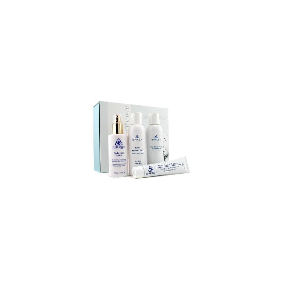Body Retreat Ritual Set Hand Cream 40ml + Shower Gel + Body Exfoliating Gel + Body Lotion   4pcs