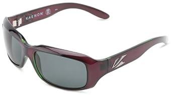 Kaenon womens Bolsa 006-07-Polarized G12 Polarized Sport Sunglasses,Polarized Eggplant,55 mm