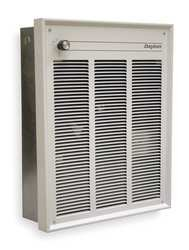 Dayton 2Had7 Electric Heater, 120V, 1500 Watts, White