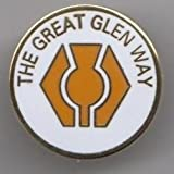 The Great Glen Way Fort William to Inverness Scotland Walk Flag Pin Badge