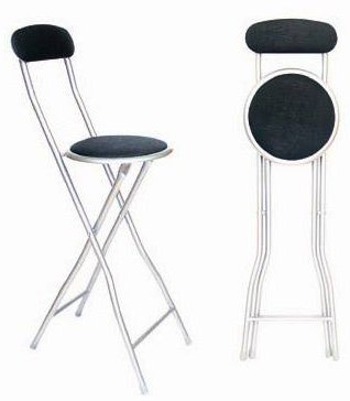 1 x FOLDING CHAIR IN BLACK GREAT FOR PARTIES/HOME/OFFICE/HALLS
