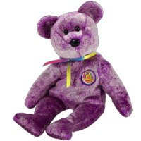 TY Beanie Baby - DREAMER the Bear (BBOM March 2003) - 1