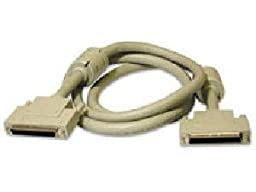 Cables To Go 12ft Lvd/Se Md68 Scsi-3 Cable W/ Ferrites Beige Double-Shielded High-Impedance Wire