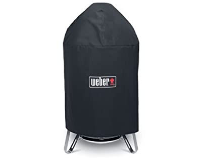 "Weber 99915 Vinyl cover for 22"" Charcoal Smokey Mountain Cooker ***"