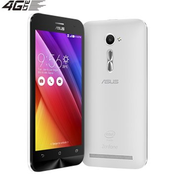 ASUS ZenFone 2 ZE500CL 2GB RAM+16GB ROM (5inch/4G LTE) [並行輸入品] (White ホワイト 白)