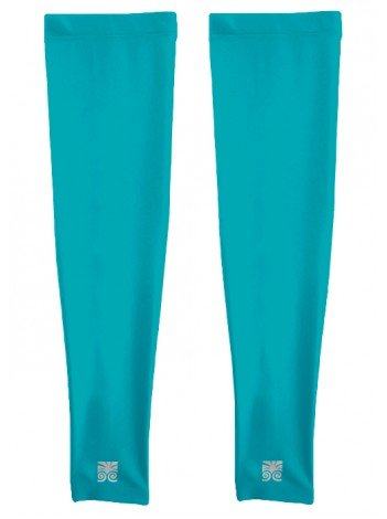 Full Length Arm Sleeve - Sold In Pairs - Teal - L