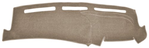 Ford Van Dash Cover Mat Pad - Fits 1975 - 1991 (Custom Carpet, Taupe)