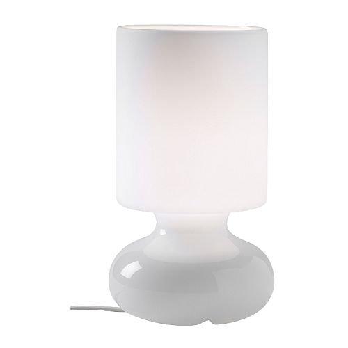 Compare Prices Ikea Lykta Unique Table Lamp Mouth Blown Glass White