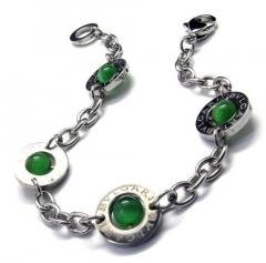 Green Opal Girl's Fashionable Titanium Bracelet