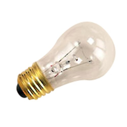 60 Qty. Halco 25W A15 Cl 130V 3M Halco A15Cl25 25W 130V Incandescent Clear Lamp Bulb