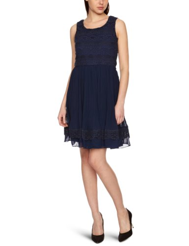 Yumi Lacey Chunky Lace Women's Dress Navy 12