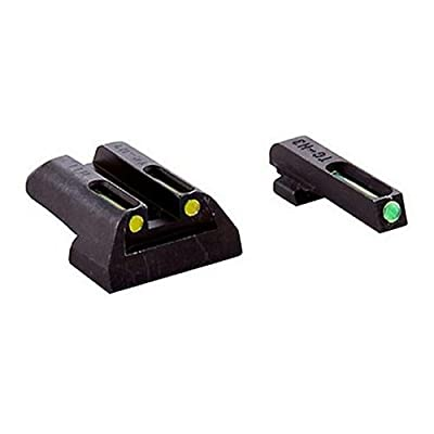 Truglo TFO Handgun Sight Set - Sig #8/#8  Green/Yellow Rear by Truglo