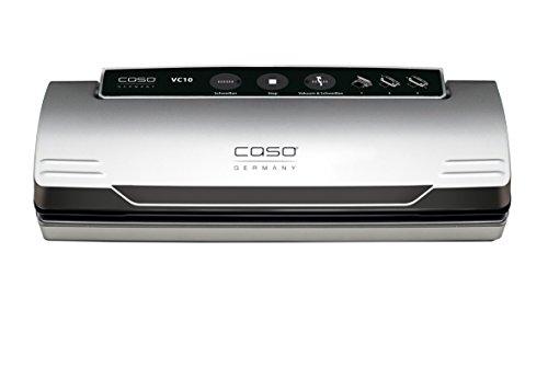 CASO VC 10 Vakuumierer (1340) / 30 cm lange Schweißnaht / natürliches Aufbewahren ohne Konservierungsstoffe / inkl. 10 gratis Profi-Beutel