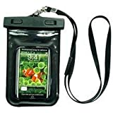 GSI Cool Sealed Waterproof Bag With Necklace Strap for Underwater Swimming/Sports/Surfing/Skiing/Fishing, Protects Apple iPhone, iPod, MP3 Players, Mobile Phones and Smaller Digital Cameras - Unique Floating Design