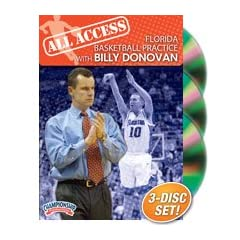 All Access Florida Basketball Practice with Billy Donovan (DVD) by Championship Productions